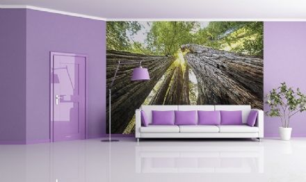Green forest home wall decoration